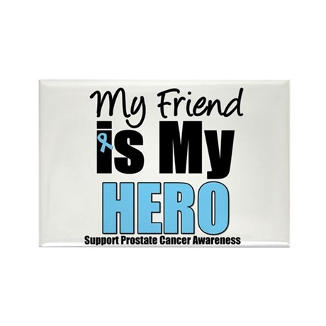 Prostate Cancer Hero Rectangle Magnet
