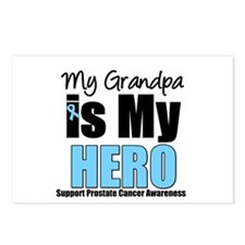 Prostate Cancer Hero Postcards (Package of 8)