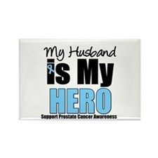 Prostate Cancer Hero Rectangle Magnet