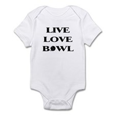 Live Love Bowl Infant Bodysuit