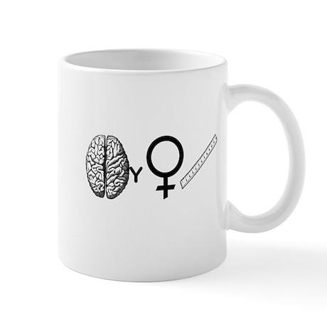 Brainy Girls Rule! Mug