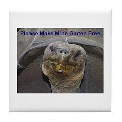 Please Make Mine Gluten Free Tile Coaster