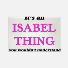 It's an Isabel thing, you wouldn't Magnets