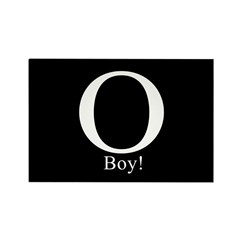 O Boy! Anti-Obama Rectangle Magnet (10 pack)