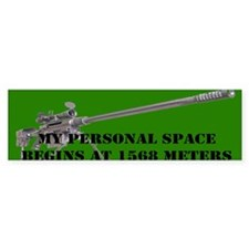 My Personal Space Begins At 1568 Meters