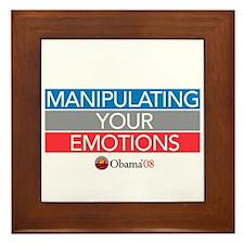 """""""MANIPULATING YOUR EMOTIONS"""" Framed Tile"""