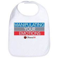 """MANIPULATING YOUR EMOTIONS"" Bib"