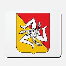 Sicilian Coat or Arms Mousepad