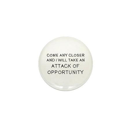 Come Closer Mini Button