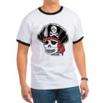 Skeleton Pirate Ringer T