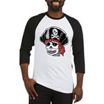 Skeleton Pirate Baseball Jersey