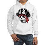 Skeleton Pirate Hooded Sweatshirt