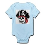 Skeleton Pirate Infant Creeper