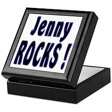 Jenny Rocks ! Keepsake Box