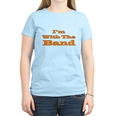 I'm With the Band - Orange/Bl T-Shirt