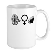 Brainy Girls ROCK! Mug