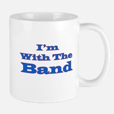 I'm With the Band - Blue/Red Mug
