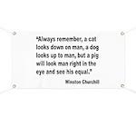 Churchill Animals Quote Banner