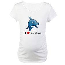 I Love Dolphins Shirt