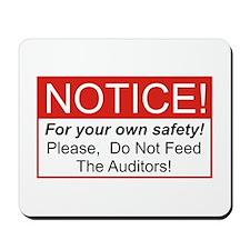 Notice / Auditors Mousepad