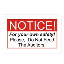 Notice / Auditors Postcards (Package of 8)