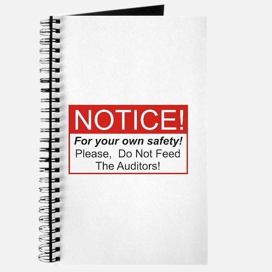 Notice / Auditors Journal