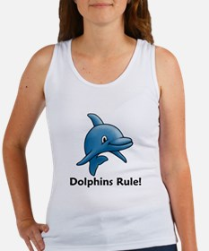Dolphins Rule! Women's Tank Top