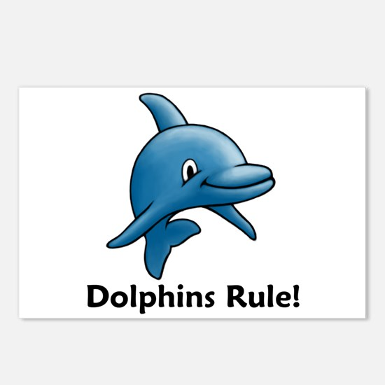 Dolphins Rule! Postcards (Package of 8)