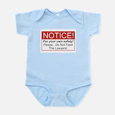 Notice / Lawyers Infant Bodysuit