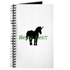 Merry Meet Spirit Unicorn Journal