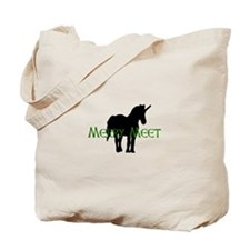 Merry Meet Spirit Unicorn Tote Bag