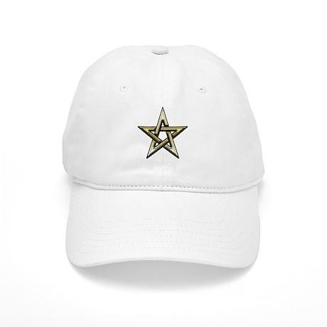 Classic Gold Pentacle Cap