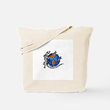 Tattoo Gecko Tote Bag