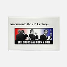 America Into the 21st Century Rectangle Magnet