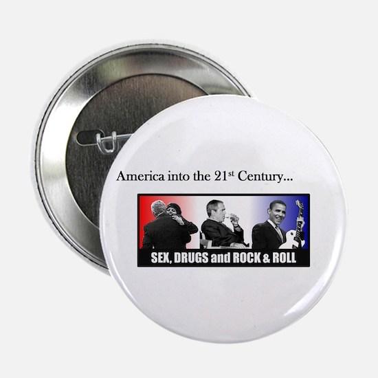 "America Into the 21st Century 2.25"" Button"