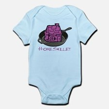 Riyah-Li Designs Home Skillet Infant Bodysuit
