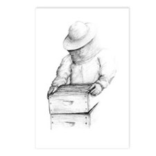 The Bee Keeper Postcards (Package of 8)
