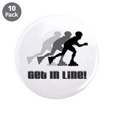 "Get In Line 3.5"" Button (10 pack)"