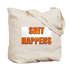 Go Cocks / Shit Happens Tote Bag