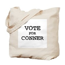 Vote for Conner Tote Bag