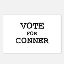 Vote for Conner Postcards (Package of 8)