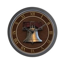 Liberty Bell Wall Clock