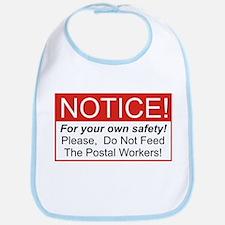 Notice / Postal Workers Bib