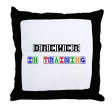 Brewer In Training Throw Pillow