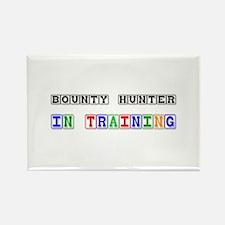 Bounty Hunter In Training Rectangle Magnet