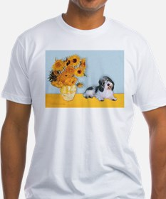 Sunflowers/PBGV Shirt