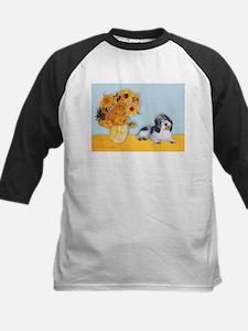 Sunflowers/PBGV Tee
