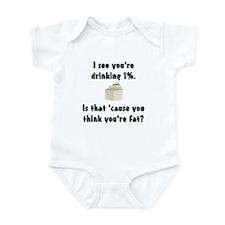 1% Milk Infant Bodysuit