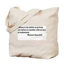 Winston Churchill 1 Tote Bag