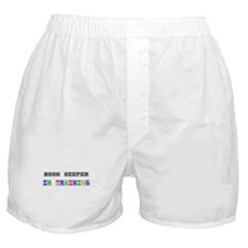 Book Keeper In Training Boxer Shorts